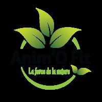 Notre logo pour la marque Anim'O FIt - la force de la nature.